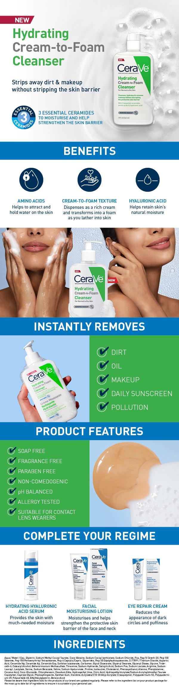 CeraVe Hydrating Cream